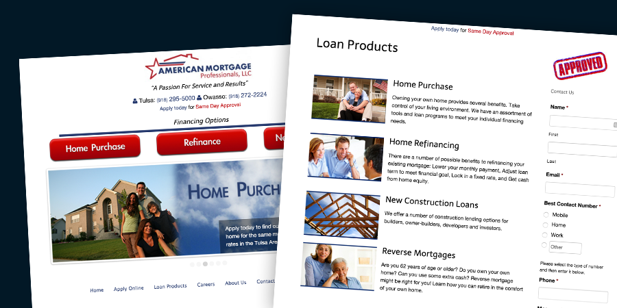 American Mortgage Professionals Projects