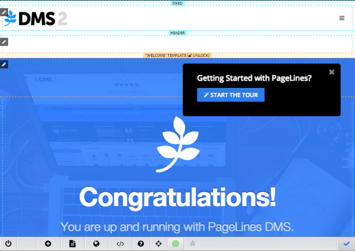 Try PageLines Demo Site