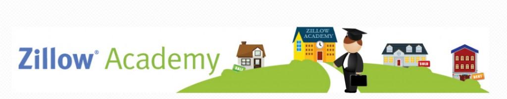 Zillow Academy logo banner